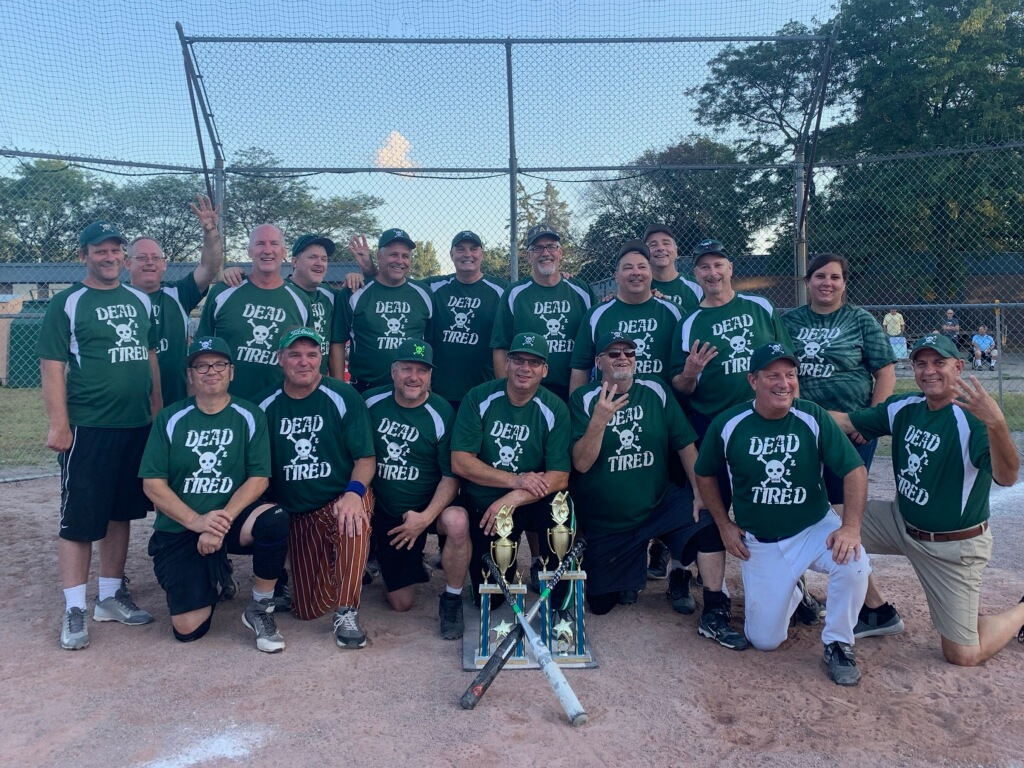 Dead Tired 2019 classic division and playoff champions