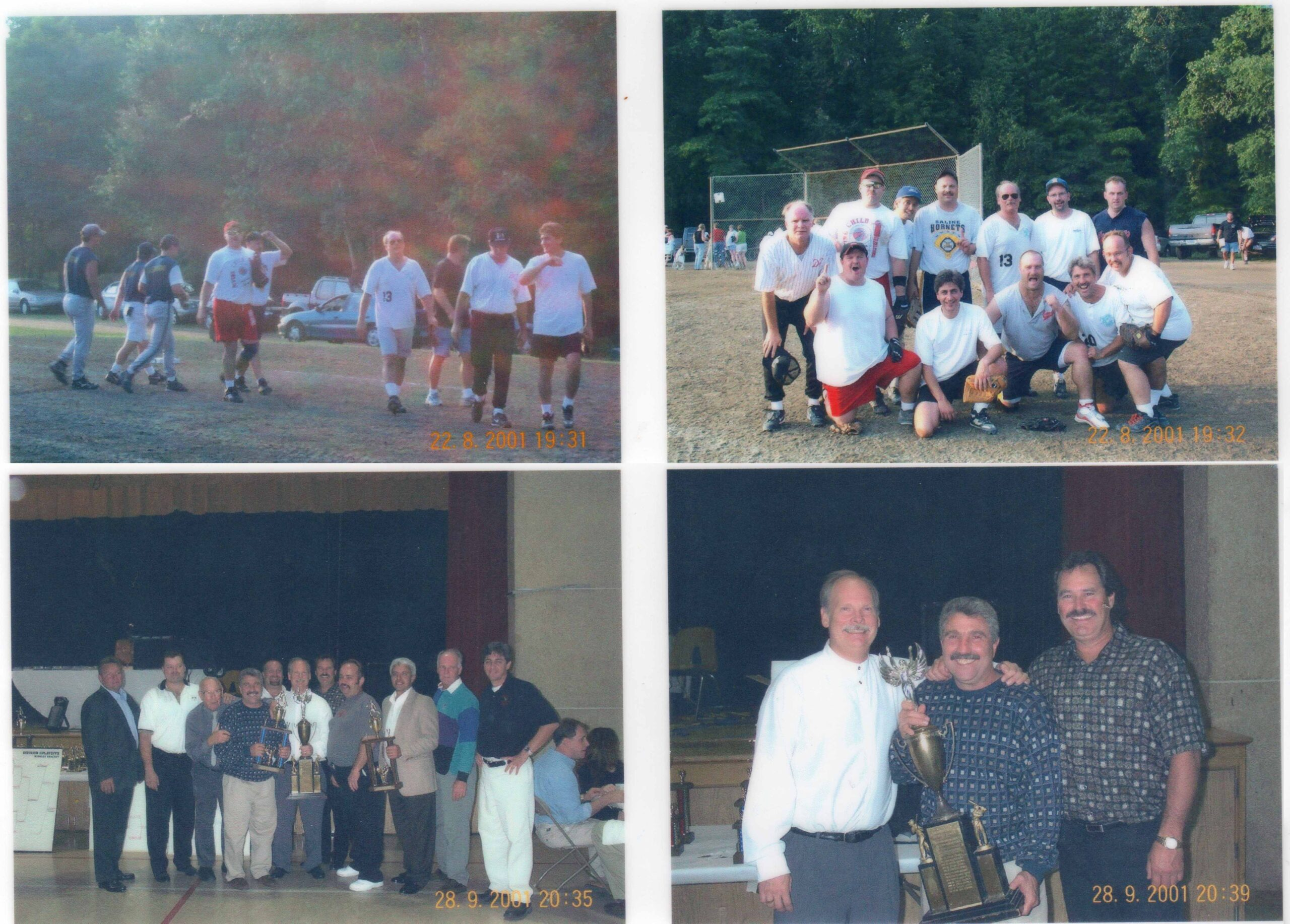 Devine child 2001 Division and playoff champs